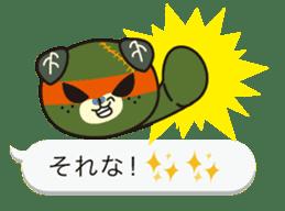 Balloon of Mikyan and dark Mikyan sticker #12133396