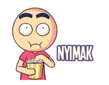 Anak Yimyam: Animated Sticker sticker #12150276