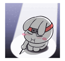 Kotaro Rabbit Ninja2 sticker #12150679