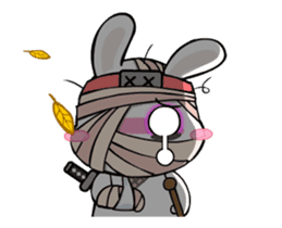 Kotaro Rabbit Ninja2 sticker #12150687