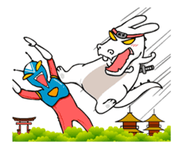 Kotaro Rabbit Ninja2 sticker #12150698