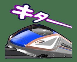 Japanese Train(Japanese Langage) sticker #12153795