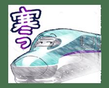 Japanese Train(Japanese Langage) sticker #12153797