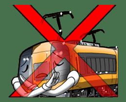 Japanese Train(Japanese Langage) sticker #12153813