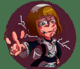 Scarehunter Maid sticker #12156543