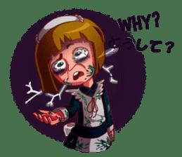 Scarehunter Maid sticker #12156547