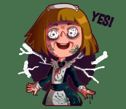 Scarehunter Maid sticker #12156550