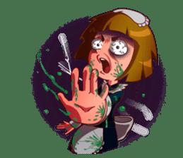 Scarehunter Maid sticker #12156551