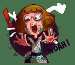 Scarehunter Maid sticker #12156563