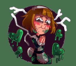 Scarehunter Maid sticker #12156567