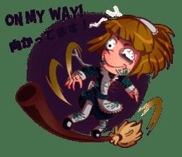 Scarehunter Maid sticker #12156569