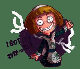 Scarehunter Maid sticker #12156570