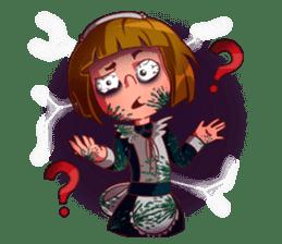 Scarehunter Maid sticker #12156573