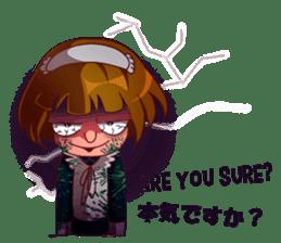 Scarehunter Maid sticker #12156574