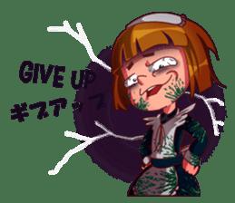 Scarehunter Maid sticker #12156575