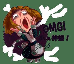 Scarehunter Maid sticker #12156581