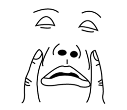 Ugly Face Man 2 : Super UGLY ! sticker #12157664