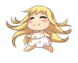 Chibi Lily & Marigold Animated sticker #12157877