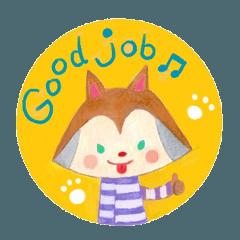 Daily English sticker