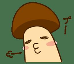 Mr.mushroom 2 ! sticker #12160090