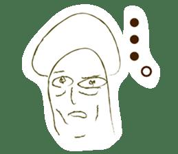 Mr.mushroom 2 ! sticker #12160106