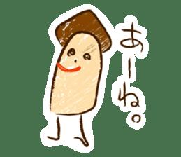 Mr.mushroom 2 ! sticker #12160108