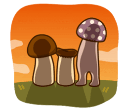 Mr.mushroom 2 ! sticker #12160125