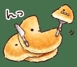 Delicious pancakes sticker #12160287