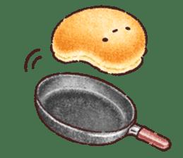 Delicious pancakes sticker #12160288