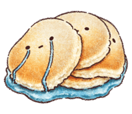 Delicious pancakes sticker #12160290