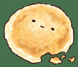 Delicious pancakes sticker #12160292