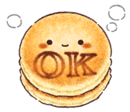 Delicious pancakes sticker #12160294