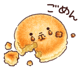 Delicious pancakes sticker #12160297