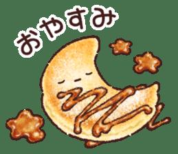 Delicious pancakes sticker #12160299