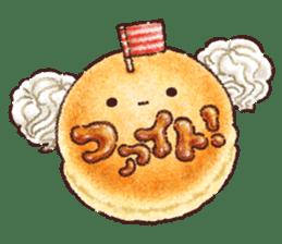 Delicious pancakes sticker #12160302