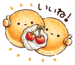 Delicious pancakes sticker #12160305