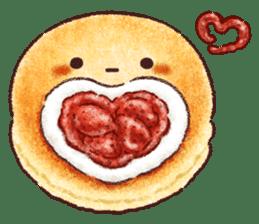 Delicious pancakes sticker #12160307