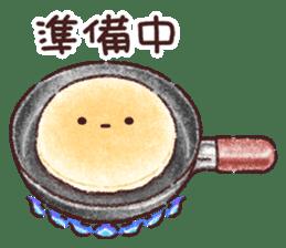 Delicious pancakes sticker #12160309
