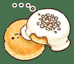 Delicious pancakes sticker #12160312
