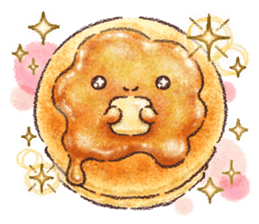 Delicious pancakes sticker #12160313