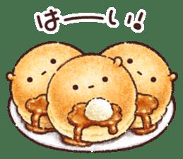 Delicious pancakes sticker #12160316