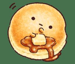 Delicious pancakes sticker #12160317