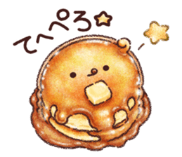 Delicious pancakes sticker #12160319