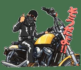 bikers Life 3nd sticker #12160500