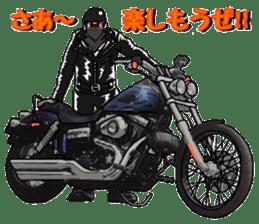 bikers Life 3nd sticker #12160501