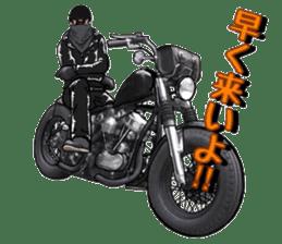 bikers Life 3nd sticker #12160510
