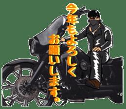 bikers Life 3nd sticker #12160518