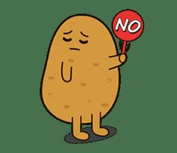 Potato King emoji stickers sticker #12165656