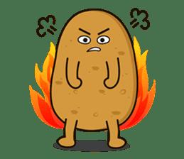 Potato King emoji stickers sticker #12165666