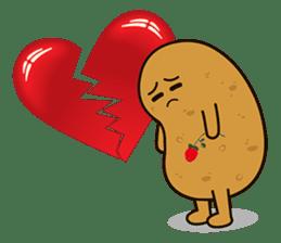 Potato King emoji stickers sticker #12165669